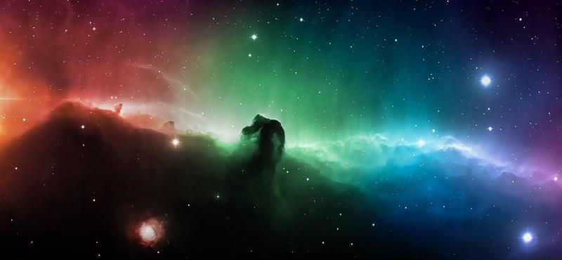 Napi háttérkép: színpompás Lófej-köd