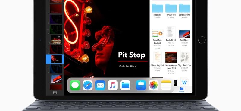 Az Apple csendben kijött két vadonatúj iPaddel