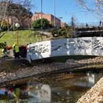 Átadták az első 3D-nyomtatott hidat