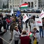 Alaptörvény 2.0: már gyülekeznek a tüntetők