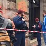 ÁSZ: Hatmilliós kárt okoztak az épületet összefestékező Gulyás Mártonék