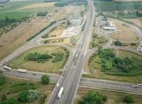 Öt autó ütközött az M5-ös autópályán