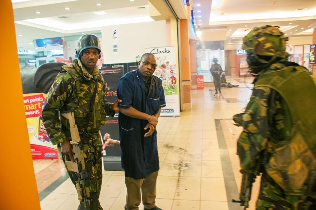 Nairobi merénylet - 2013. szeptember, Kenya