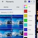 Mobilos fotók keresése szín alapján? iPhone-os album Androidra? Ezzel lehetséges