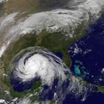 Hurrikán a Mexikói-öbölben