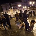 Tüntetéssorozat Spanyolországban - Nagyítás-fotógaléria