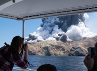 Kevés az esély, hogy túlélőt találjanak az új-zélandi vulkánszigeten