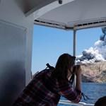 Már nem keresik az új-zélandi tűzhányónál eltűnteket