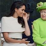 Ezek voltak Meghan Markle és Erzsébet királynő legjobb közös pillanatai