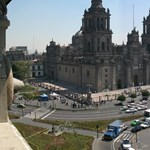 Kiszorították a tüntető tanárokat Mexikóváros központjából