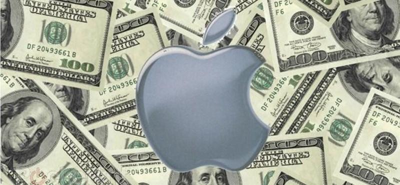 Dübörögnek az iPhone-ok, ömlik a pénz – hatalmasat robbantott az Apple