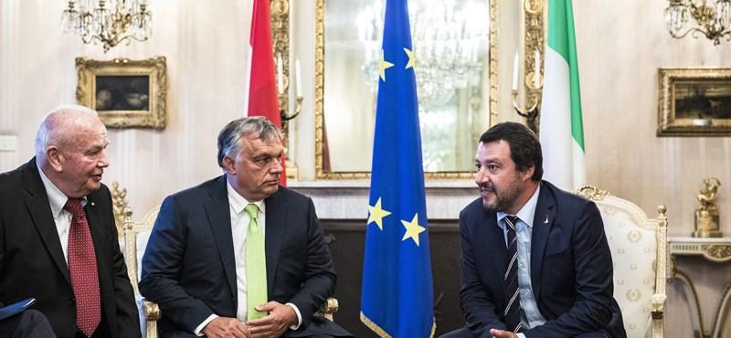 Orbán: Salvini Európa védelmezője, Magyarország mindenben segíteni fogja