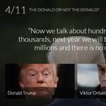Ki mondta, Orbán Viktor vagy Donald Trump? - tesztkérdés