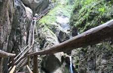 Meghalt egy magyar nő az osztrák Medve-szurdokban