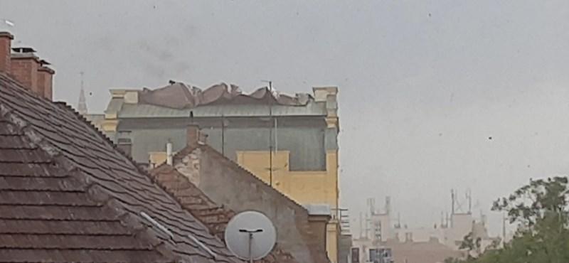 Több tízezren maradtak áram nélkül a Dél-Alföldön a vihar miatt