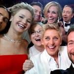 Elkészült az Oscar-gála legmenőbb selfie-je