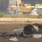 Lezuhant egy vadászgép Madridnál