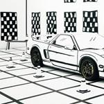 Olyan ez az autó, mintha csak egy rajz lenne, pedig igazi – videó