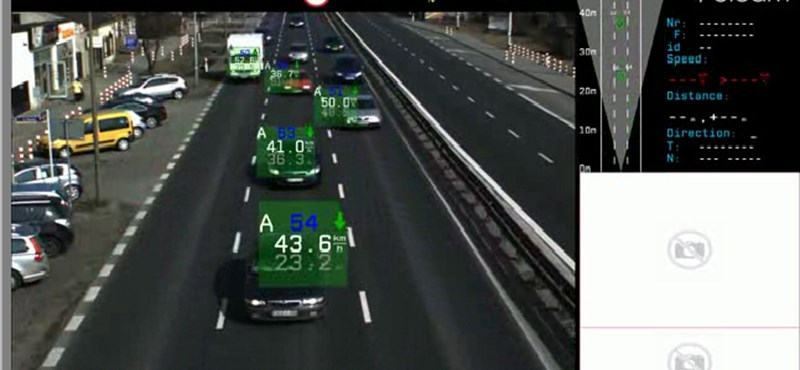 Autósok réme: 32 autót képes egyszerre mérni egy új radar