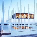Zseniális villaterv! Acélrudakon úszó rezidencia (fotókkal)