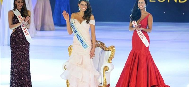 Magyar szépség lett a második a Miss World 2014-en