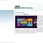 Ilyen lesz a Windows 8