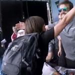 Videó: parádésan bánik Alonso még a kicsit túlpörögött rajongóval is