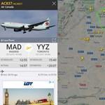 Többórás körözés után hajtott végre kényszerleszállást egy Boeing 767-es Madridban