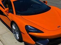216-tal száguldott egy magyar sofőr egy McLarennel, amikor bemérték Dubrovniknál