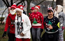 Karácsonyi ronda pulcsik lepték el a Margitszigetet