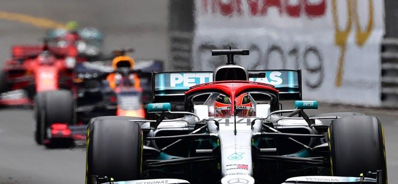 Monacói Nagydíj: Hamilton győzött és növelte előnyét az összetettben