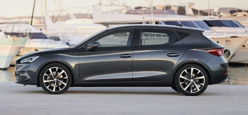 190 lóerős benzinmotort kapott az új Seat Leon