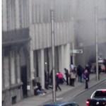 Robbanás volt az egyik központi brüsszeli metróállomásnál