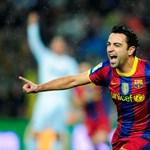 Xavi nélkül játszhat a Barcelona a Milan ellen