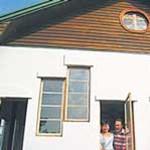 Papírhulladékból épült az iskola. Olcsó, praktikus, de munkaigényes technológia