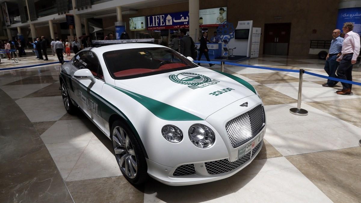 Fotók: Ilyen a rendőrautó Dubajban