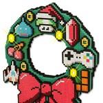 Karácsonyi ajtódísz geekeknek