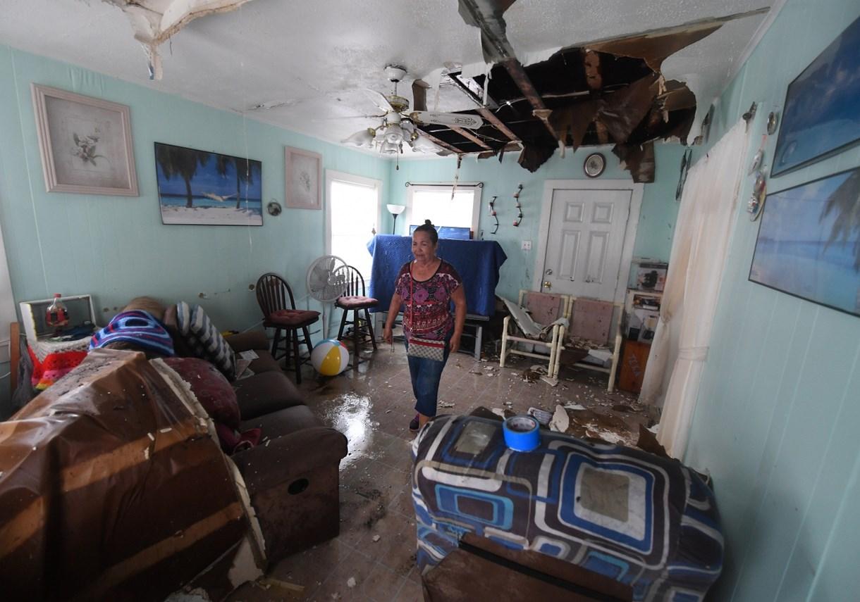 A Harvey hurrikán maga alá gyűrteTexast