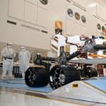 Jövő hétfőn landolhat a Marson a Curiosity
