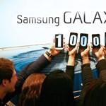 100 millió fölött a Samsung Galaxy S mobilok
