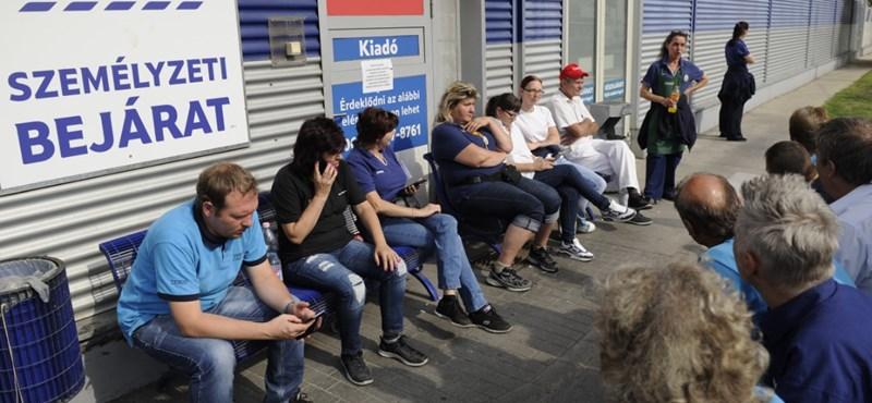 Tesco-sztrájk: megijedtek a munkáltatók, indul a bérverseny
