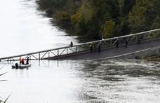 Összeomlott egy híd Franciaországban, egy 15 éves lány életét vesztette