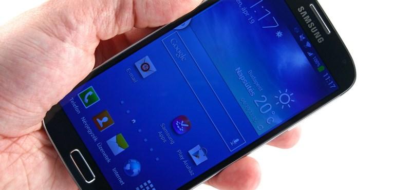 Samsung Galaxy S4 teszt: hangos igen, nagyon halk de