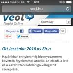 A Veol.hu kijuttatta Dzsudzsákékat az Eb-re