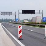 Burkolatot javítanak az M1-es autópályán, több szakaszon is csak egy sáv lesz használható
