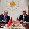 Erdogan beleegyezett a tűzszünetbe Észak-Szíriában