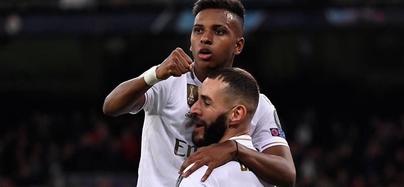 Még pályára sem lépett, de továbbjutott a Real Madrid