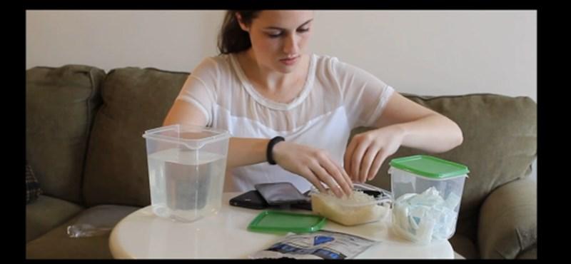 Hogyan lehet kiszárítani egy vizes okostelefont?