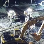 A nap videója: ennyire gyorsan is lehet dolgozni egy kereszteződés felújításán