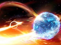 """900 millió éve történhetett, de a Földről csak múlt héten lászott, ahogy egy fekete lyuk """"felfal"""" egy neutroncsillagot"""